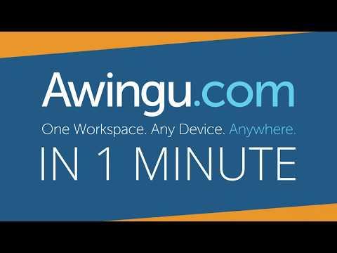 Awingu in 1 minute